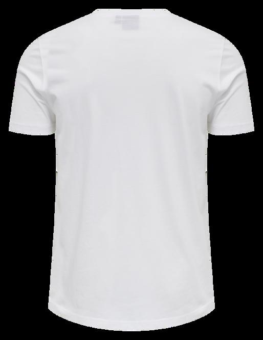 hmlPARSON T-SHIRT, WHITE, packshot