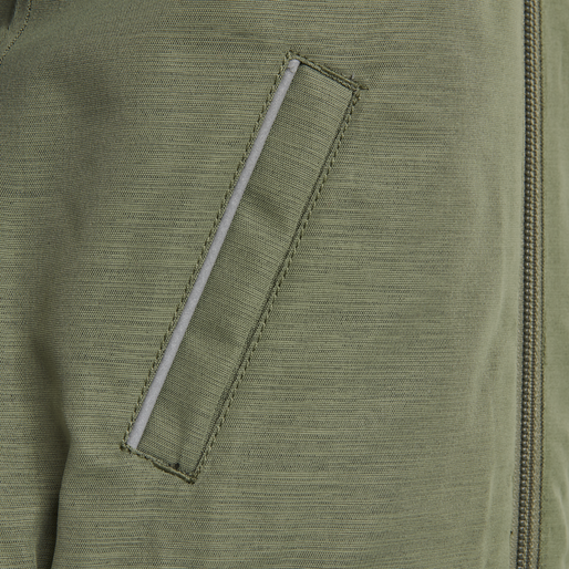 hmlBASSA JACKET, DEEP LICHEN GREEN, packshot