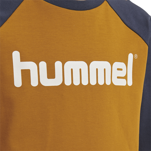 hmlBOYS T-SHIRT LS, CATHAY SPICE, packshot