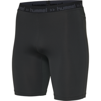 HUMMEL FIRST PERFORMANCE KIDS TIGHT SHORTS, BLACK, packshot
