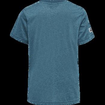 hmlTANG T-SHIRT S/S, BLUE CORAL, packshot
