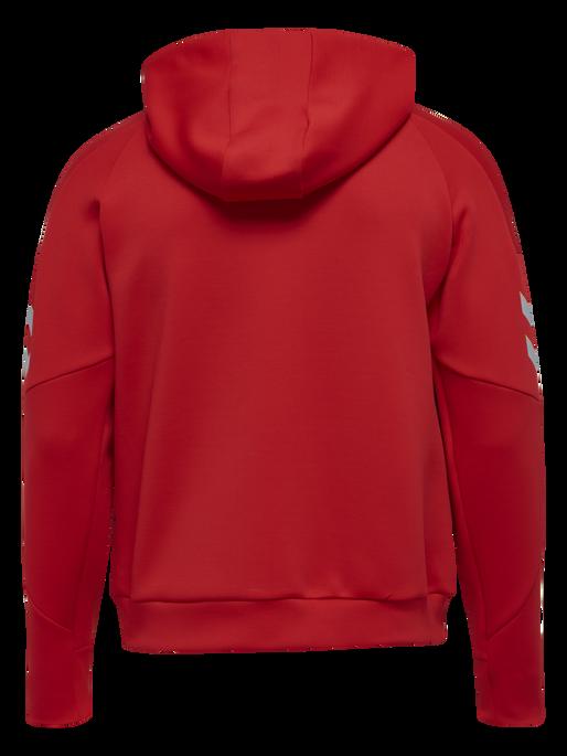 TECH MOVE ZIP HOOD, TRUE RED, packshot