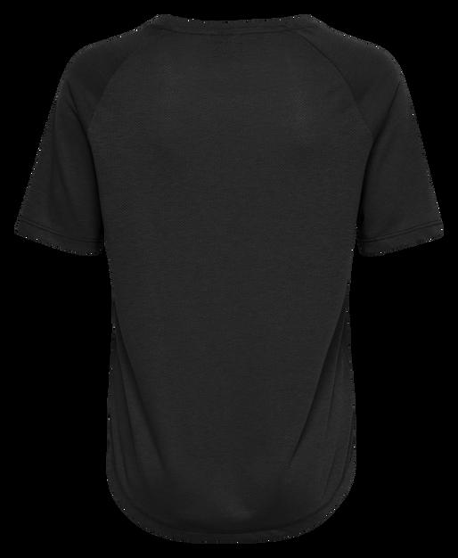 hmlVANJA T-SHIRT S/S, BLACK, packshot
