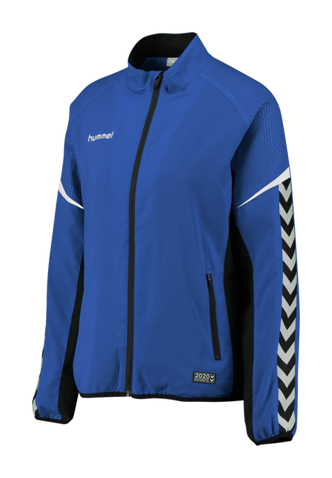 AUTHENTIC CHARGE MICRO ZIP JACKET WOMAN, TRUE BLUE, packshot