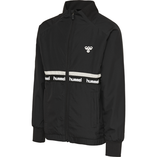 hmlTARP ZIP JACKET, BLACK, packshot