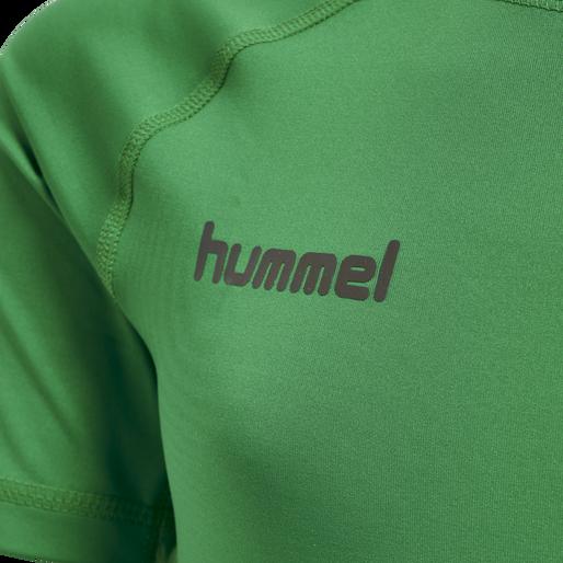 HUMMEL FIRST PERFORMANCE KIDS JERSEY S/S, JELLY BEAN, packshot