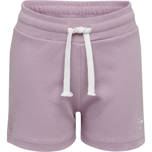 HMLNILLE SHORTS, MAUVE SHADOW, packshot
