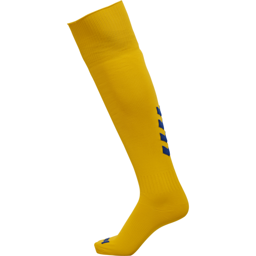hmlPROMO FOOTBALL SOCK, SPORTS YELLOW/TRUE BLUE, packshot
