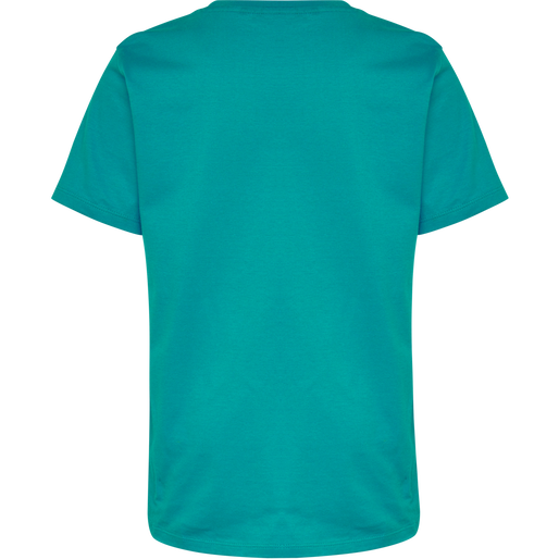 hmlTRES TEE SHIRT S/S, LAKE BLUE, packshot