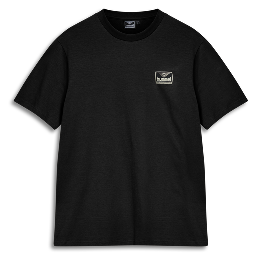 hmlFERIE T-SHIRT, BLACK, packshot
