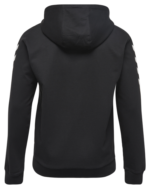CORE COTTON HOODIE, BLACK, packshot