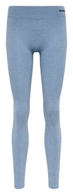 CLASSIC BEE CI SEAMLESS TIGHTS, FADED DENIM MELANGE, packshot