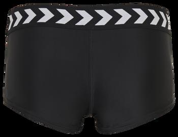 hmlZONE SWIM HOTPANTS, BLACK, packshot