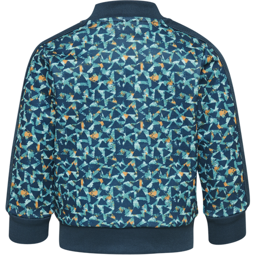 hmlERNESTO ZIP JACKET, MAJOLICA BLUE, packshot