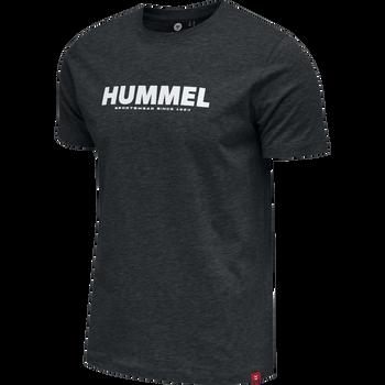 hmlLEGACY T-SHIRT, BLACK, packshot
