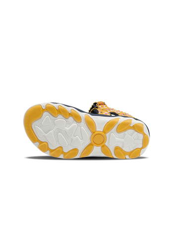 SANDAL SPORT FLOWERS JR, GOLDEN ROD, packshot