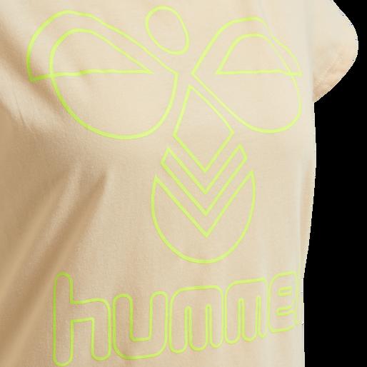 hmlSENGA T-SHIRT S/S, CLOUD PINK, packshot