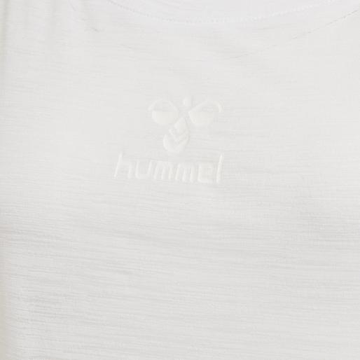 hmlSUNNY T-SHIRT S/S, WHITE, packshot
