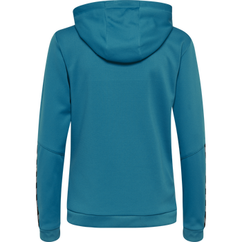 hmlAUTHENTIC POLY ZIP HOODIE WOMAN, CELESTIAL, packshot