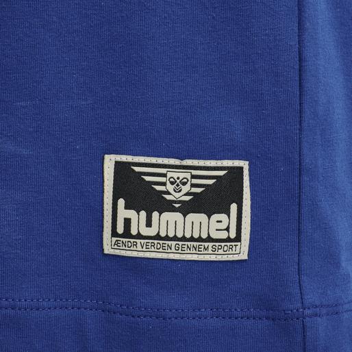 hmlWEST COAST T-SHIRT S/S, MAZARINE BLUE, packshot
