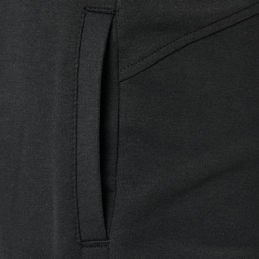 hmlPLESS PANTS, BLACK, packshot
