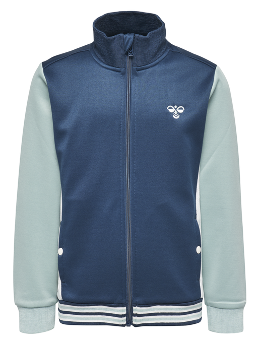 FALCON ZIP JACKET, BLUE WING TEAL, packshot