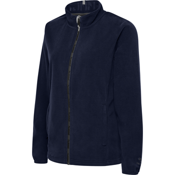 hmlNORTH FULL ZIP FLEECE JACKET WOMAN, MARINE, packshot