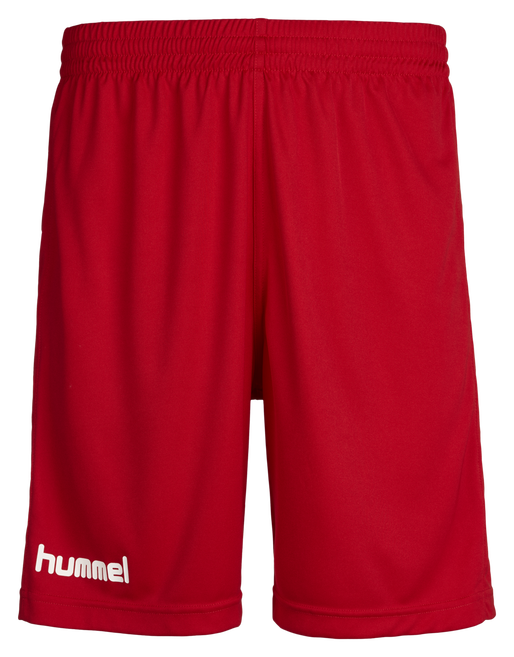 CORE POLY SHORTS, TRUE RED PRO, packshot