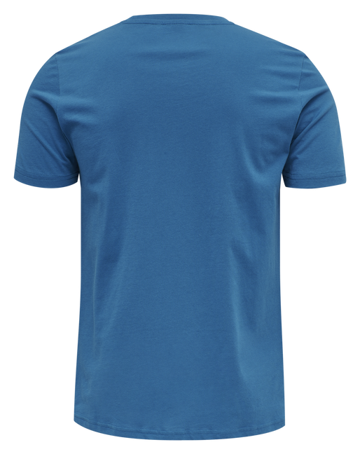 hmlACTON T-SHIRT, BLUE SAPPHIRE, packshot
