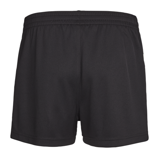 CORE WOMENS SHORTS, BLACK PR, packshot