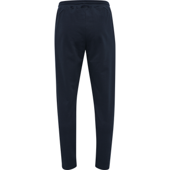 hmlACTION COTTON PANTS, DARK SAPPHIRE/BLUE CORAL, packshot