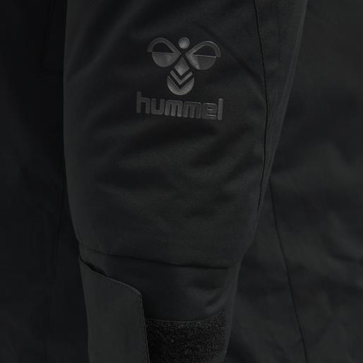 hmlNORTH PARKA JACKET, BLACK/ASPHALT, packshot