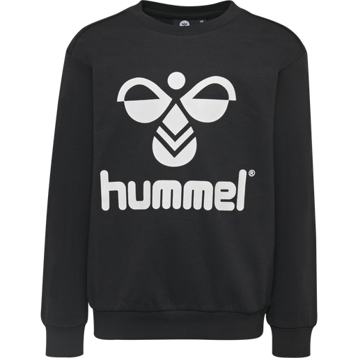 HMLDOS SWEATSHIRT, BLACK, packshot