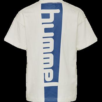 hmlETHAN T-SHIRT S/S, WHISPER WHITE, packshot