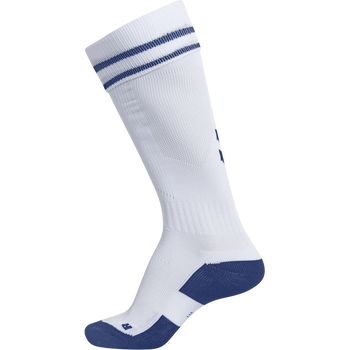 ELEMENT FOOTBALL SOCK , WHITE/TRUE BLUE, packshot