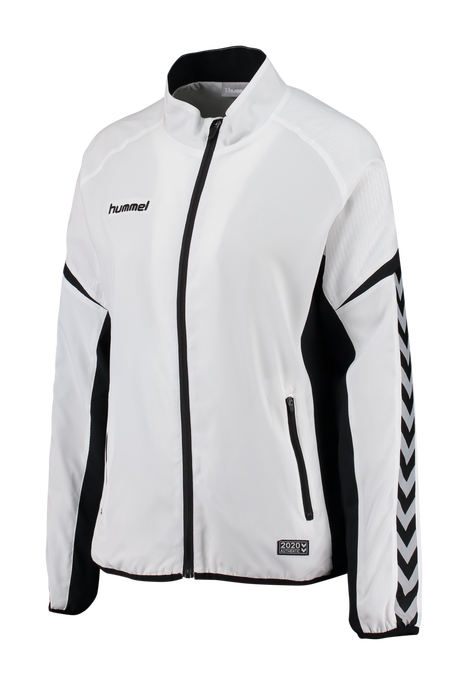 AUTHENTIC CHARGE MICRO ZIP JACKET WOMAN, WHITE, packshot