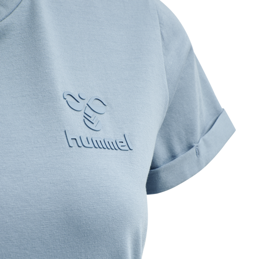 HMLISOBELLA T-SHIRT S/S, FADED DENIM, packshot