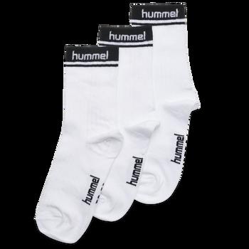 hmlCONI 3-PACK SOCK, WHITE, packshot