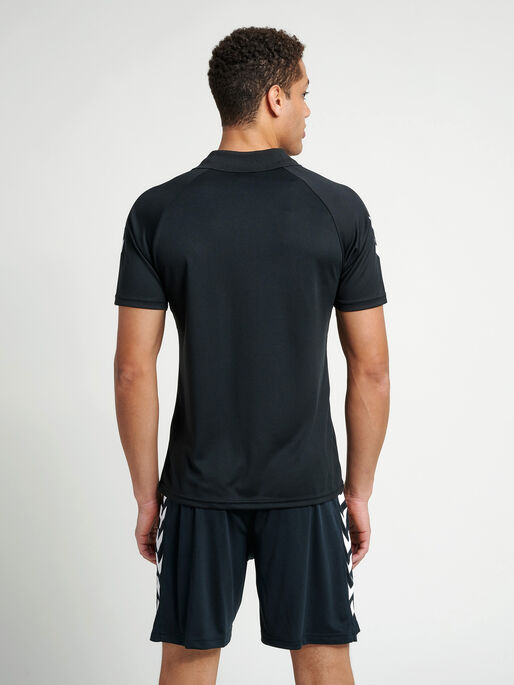CORE FUNCTIONAL POLO, BLACK, model
