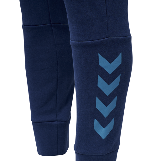 hmlFALCON TAPERED PANTS, MEDIEVAL BLUE, packshot