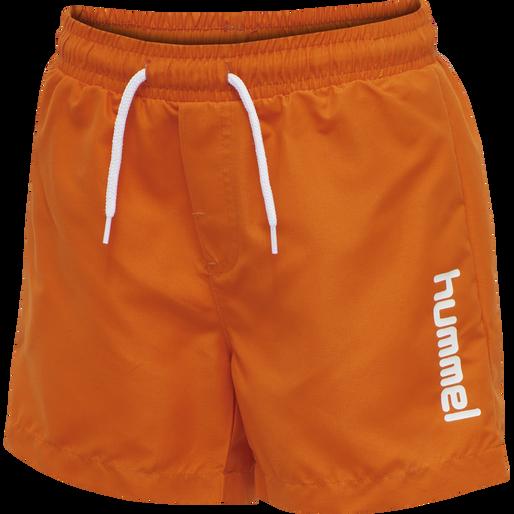 hmlBONDI BOARD SHORTS, SCARLET IBIS, packshot
