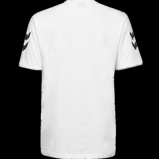 HUMMEL GO COTTON T-SHIRT S/S, WHITE, packshot