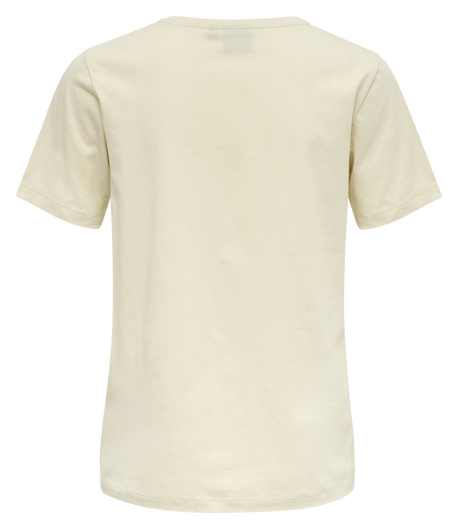hmlGLORIA T-SHIRT , BONE WHITE, packshot