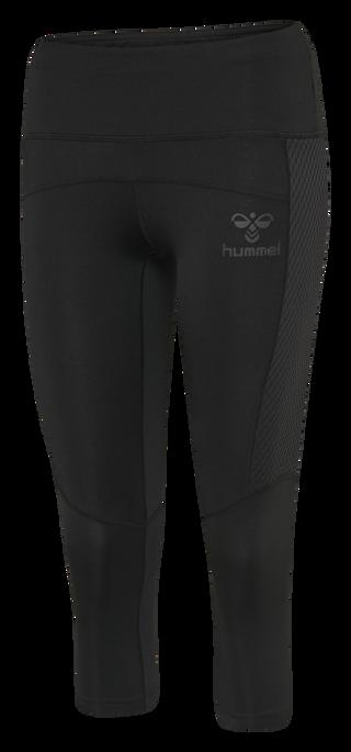 hmlLEXINE 3/4 TIGHTS, BLACK, packshot