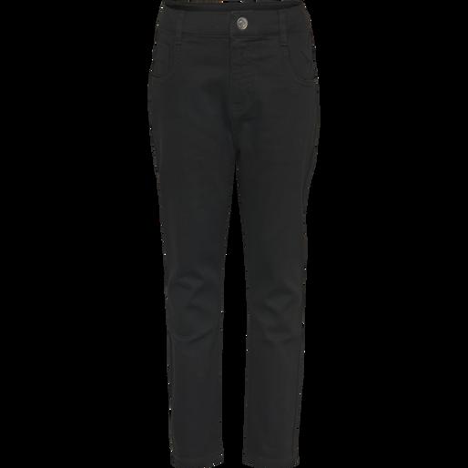 hmlFIVE PANTS, BLACK DENIM, packshot