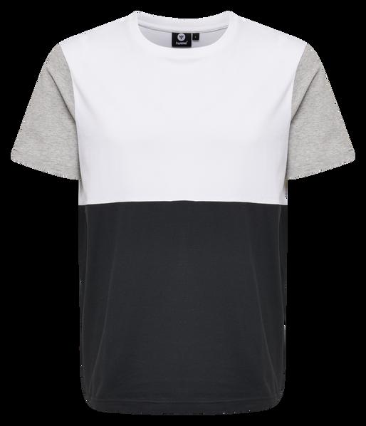 HMLDANIEL T-SHIRT S/S, BLACK, packshot