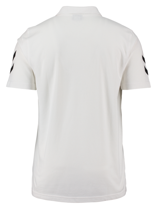 CORE COTTON POLO, WHITE, packshot