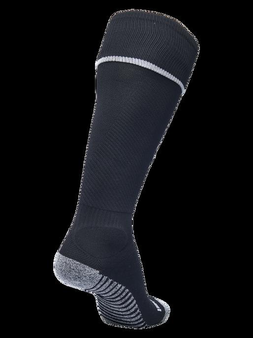 PRO FOOTBALL SOCK, BLACK/WHITE, packshot