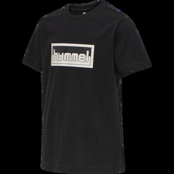 hmlMONO T-SHIRT S/S, BLACK, packshot