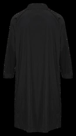 hmlWILLY TRENCH COAT, BLACK, packshot